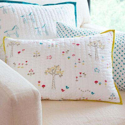 Rabbit Patch Pillow Cover