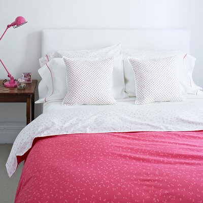 Chism 200 Thread Count 100% Cotton Flat Sheet Color: Pink