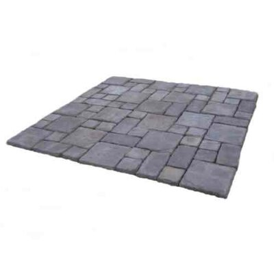 Cass Stone Concrete Patio-on-a-Pallet Kit