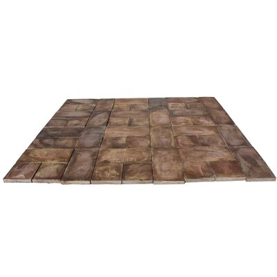 Rundle Stone Concrete Patio-on-a-Pallet Kit