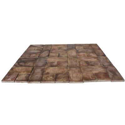 Rundle Stone Concrete Patio-on-a-Pallet Kit