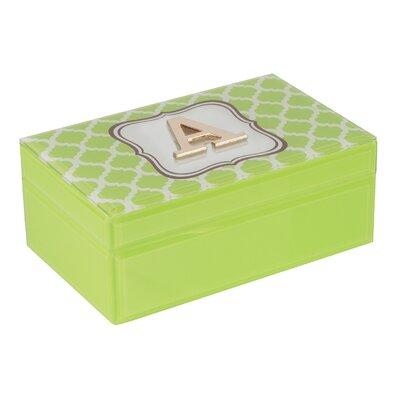 Trellis Jewelry Box Monogrammmed: A
