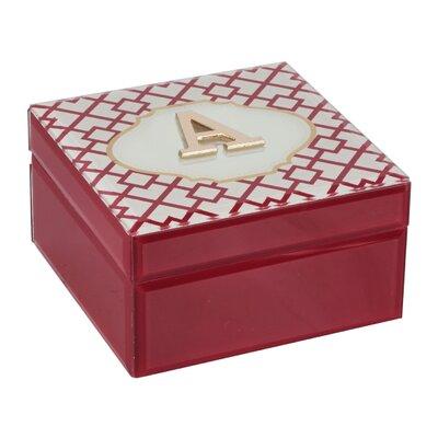 Monogram Trellis Jewelry Box Monogrammed: A
