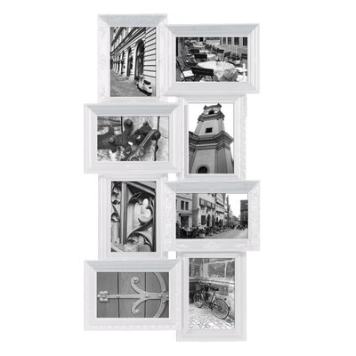 Revet 8 Piece Picture Frame Set Color: White