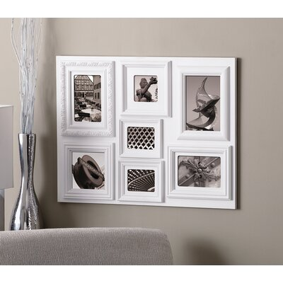 Fuse 7 Piece Picture Frame Set Color: White