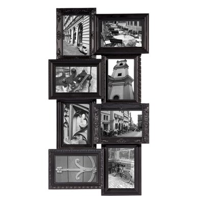 Revet 8 Piece Picture Frame Set Color: Black