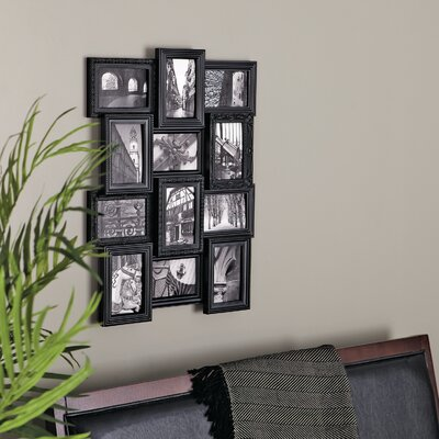 Revet 12 Piece Picture Frame Set Color: Black