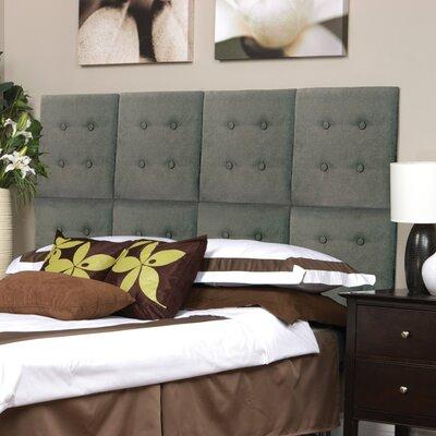 Luxe Upholstered Panel Headboard Upholstery: Tweed Gray