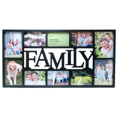 Family 10 Piece Picture Frame Set