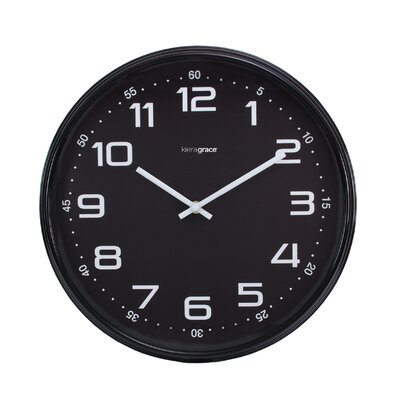 "Kiera Grace 14"" Max Wall Clock HO87505-1MC"