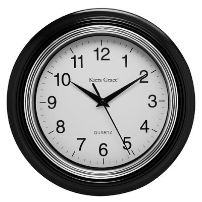 "Kiera Grace 10"" Aster Wall Clock HO87362-0MC"
