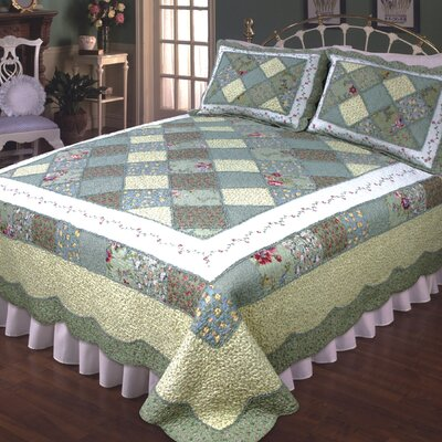 Calton Green & Blue Quilt Collection