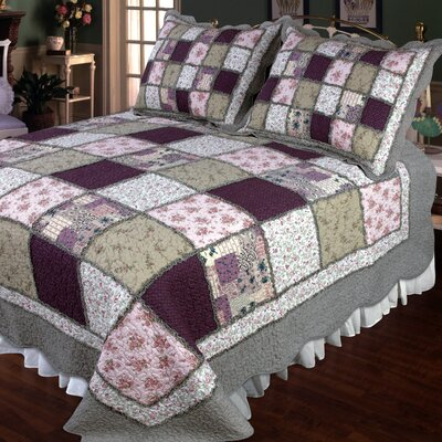 Calorafield Quilt Size: Super King