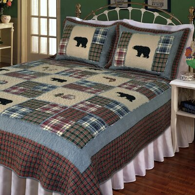 Pittsford Quilt Size: King