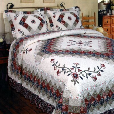 Calmaberry Quilt Size: Full/Queen