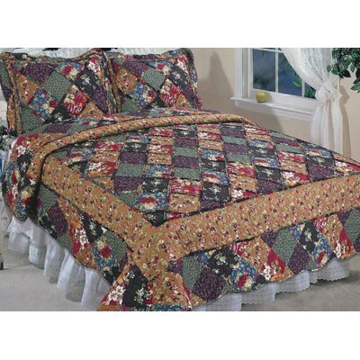Country Glory Quilt Size: Queen