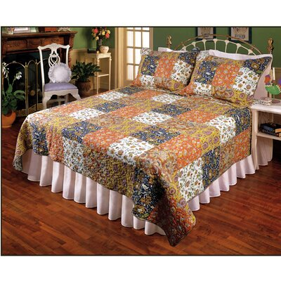 Bohemian Inspiration Quilt Size: Super King
