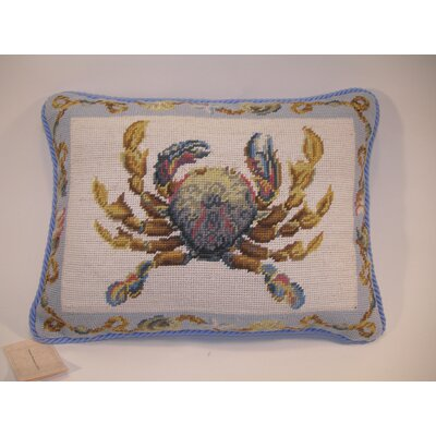 Crab Wool Lumabr Pillow
