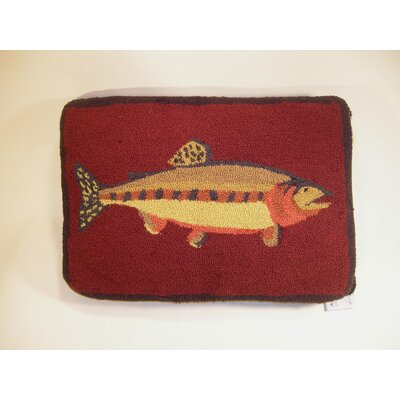 Fish Wool Lumabr Pillow