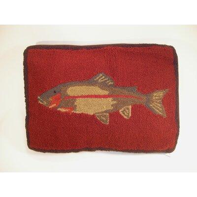 Fish Wool Lumabr Pillow