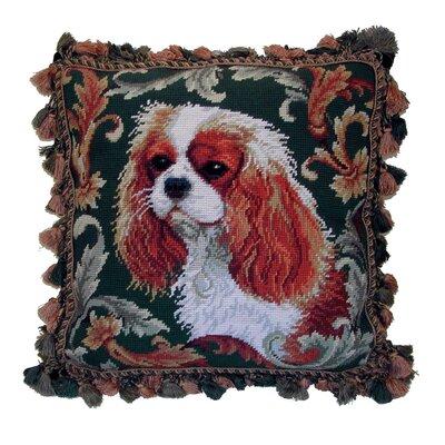 Fringe King Cavalier Wool Throw Pillow