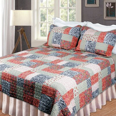 Chantilly Quilt Size: King