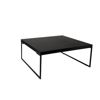 Frederik Coffee Table Top Finish: Black Ash