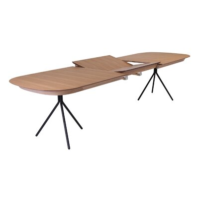 Jonas Extendable Dining Table Top Finish: Natural Oak