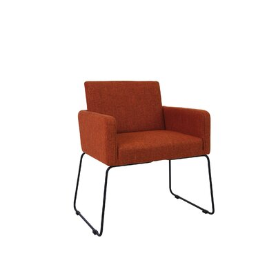 Jolena Arm Chair (Set of 2) Upholstery: Russet