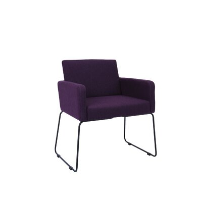 Jolena Arm Chair (Set of 2) Upholstery: Orchid