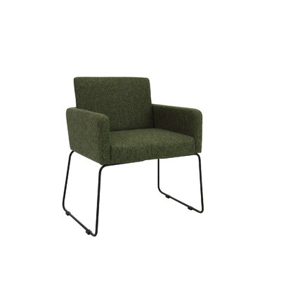 Jolena Arm Chair (Set of 2) Upholstery: Forest