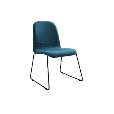 Cheap Evy Side Chair Set of 2 Upholstery Teal for sale