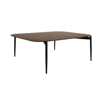 Oliver High Coffee Table Top Finish: Walnut