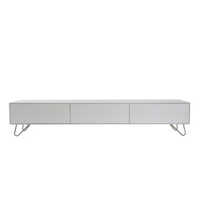 Johan TV Stand Finish: White Lacquer