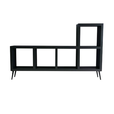 Villads TV Stand Finish: Charcoal Grey Lacquer