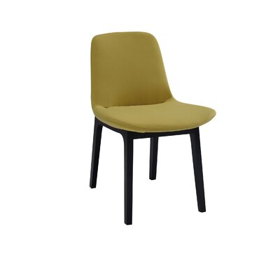 Ida Upholstered Dining Chair (Set of 2) Upholstery Color: Pistachio