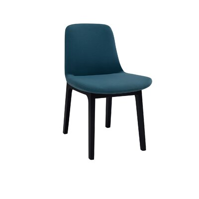 Ida Upholstered Dining Chair (Set of 2) Upholstery Color: Clover