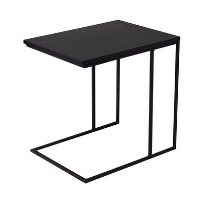 Frederik End Table Finish: Black Ash