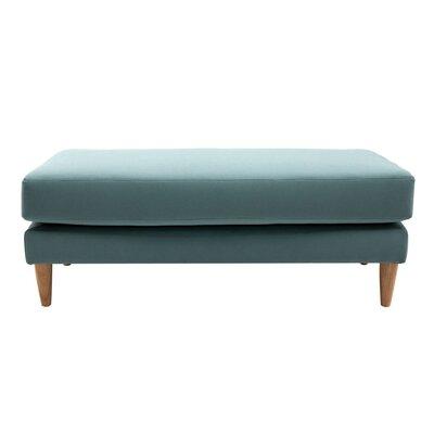 Torvi Ottoman Upholstery: Jade