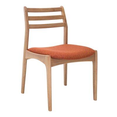 Maja Side Chair (Set of 2) Upholstery: Natural Oak / Russet