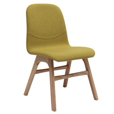 Agnes Side Chair (Set of 2) Upholstery: Natural Oak / Oasis
