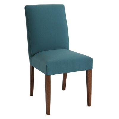 Lenna Side Chair Upholstery: Walnut / Clover