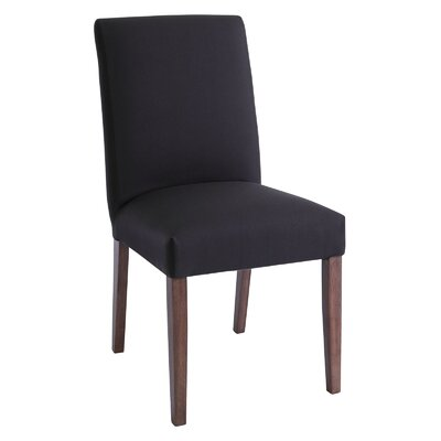 Lenna Side Chair Upholstery: Walnut / Lava