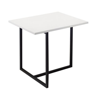 Dolf End Table Finish: White Lacquer