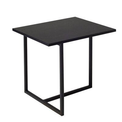 Dolf End Table Color: Black Ash