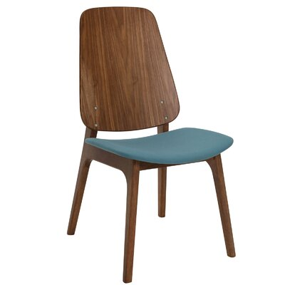 Ditta Side Chair (Set of 2) Upholstery: Clover