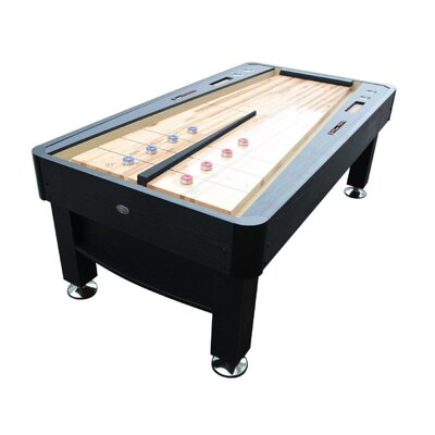 The Rebound 2.6' Shuffleboard Table Rebound-BLK