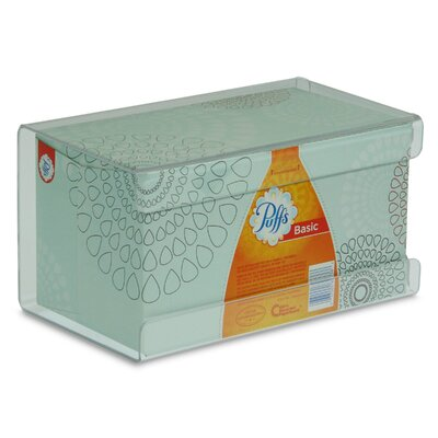 Kleenex Large Box Holder Color: Clear