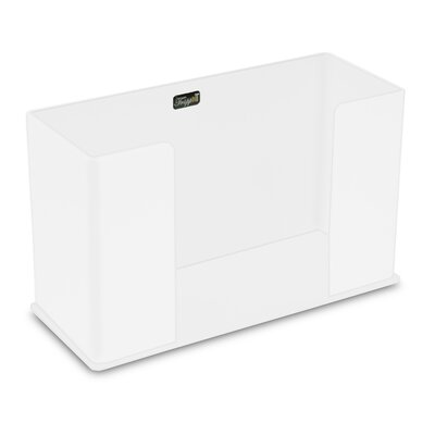 Paper Counter Top Towel Holder Color: White