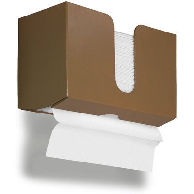 Paper Dual Towel Holder Color: Saddle Tan